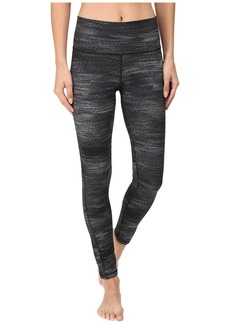 adidas Performer Mid Rise Long Tights - Macro Heather Print