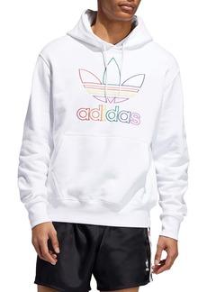 adidas Pride Embroidered Hooded Sweatshirt