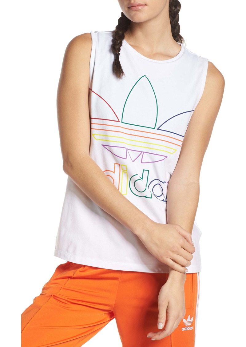 Adidas Pride Stretch Cotton Tank Top