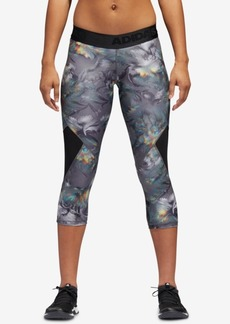 adidas Printed Cropped Compression Leggings