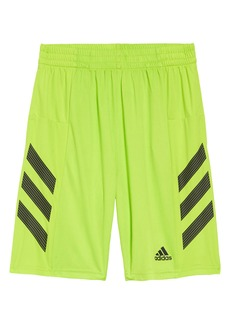 adidas Pro Sport 3S Performance Shorts (Big Boy)