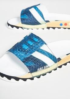 adidas Raf Simons La Adilette Slide Sandals