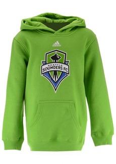 adidas Seattle Sounders Fc Primary Logo Hoodie, Big Boys (8-20)