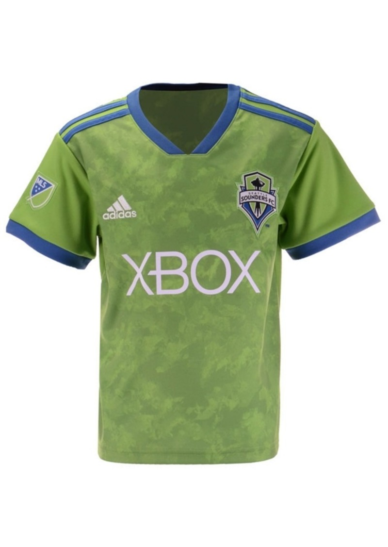 adidas Seattle Sounders Fc Primary Replica Jersey, Little Boys (4-7)