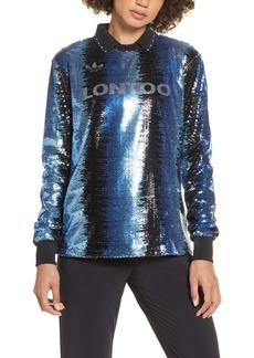 adidas Sequin Long Sleeve Soccer Jersey