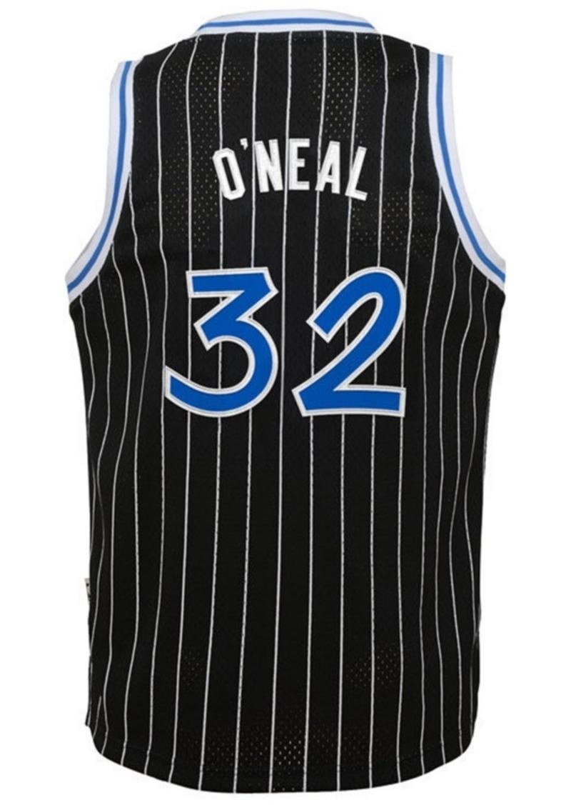 adidas Shaquille O'Neal Orlando Magic Retired Player Swingman Jersey, Big Boys (8-20)