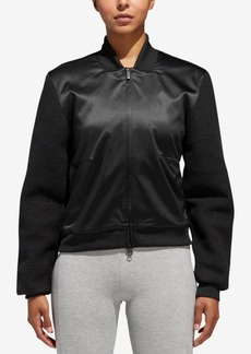 adidas Sherpa and Satin Bomber Jacket