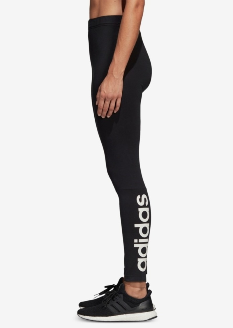 adidas Shine Logo Leggings, Created for Macy's