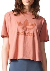 Adidas Short-Sleeve Graphic Cotton Tee