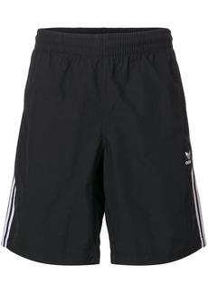 Adidas signature stripe swim shorts