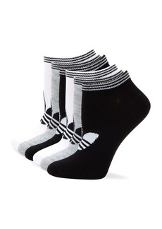 Adidas Six-Pack Originals Trefoil No-Show Socks