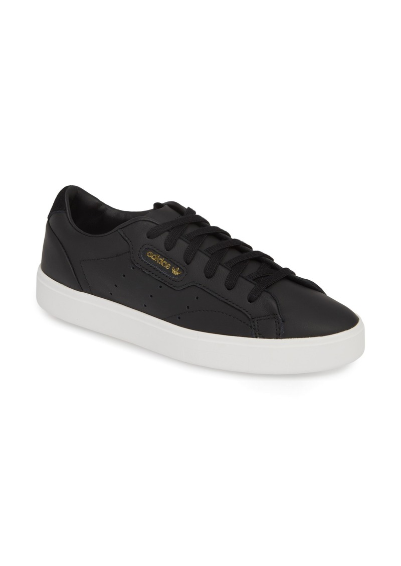 adidas Sleek Leather Sneaker (Women)