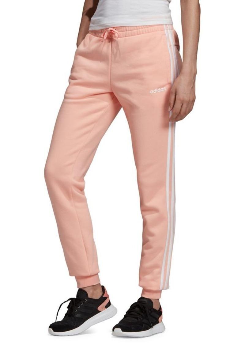 Adidas Slim-Fit 3-Stripes Cotton-Blend Jogger Pants