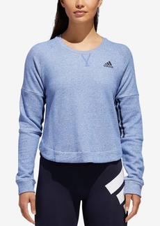 adidas Sport 2 Street Cotton Cropped Sweatshirt