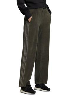 adidas Women's Sport Id Velour 3-Stripe Pants