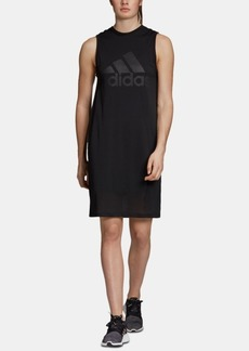 adidas Sports Id Mesh-Overlay Sleeveless Dress