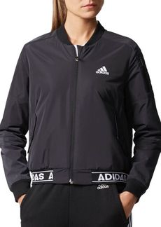 Adidas Sporty Fleece Bomber Jacket