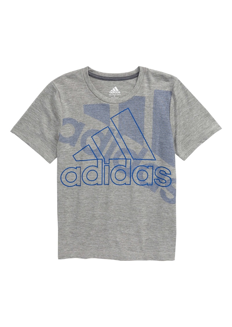 adidas Statement Logo Graphic Tee (Toddler & Little Boy)