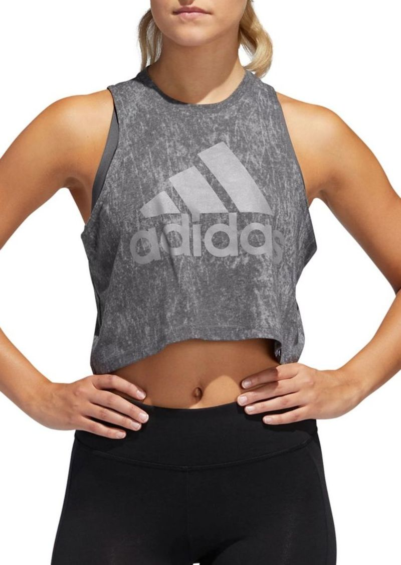 Adidas Summerwash Cropped Tank Top