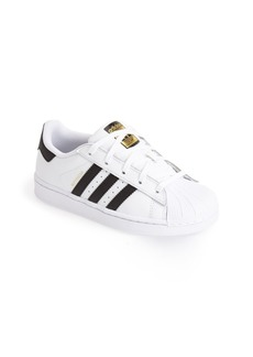 adidas 'Superstar' Sneaker (Toddler & Little Kid)