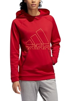 adidas Women's Team Issue Logo Hoodie