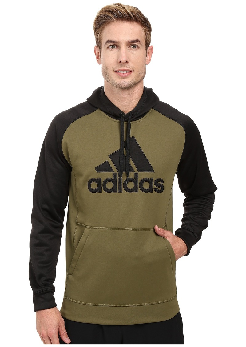 adidas Team Issues Fleece Pullover Hoodie - Applique