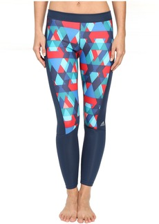 adidas Techfit Long Tights - Boost Print