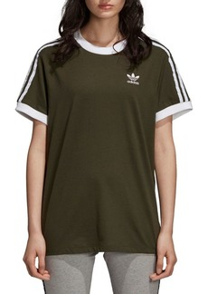 Adidas Three-Stripes Roundneck Cotton Tee