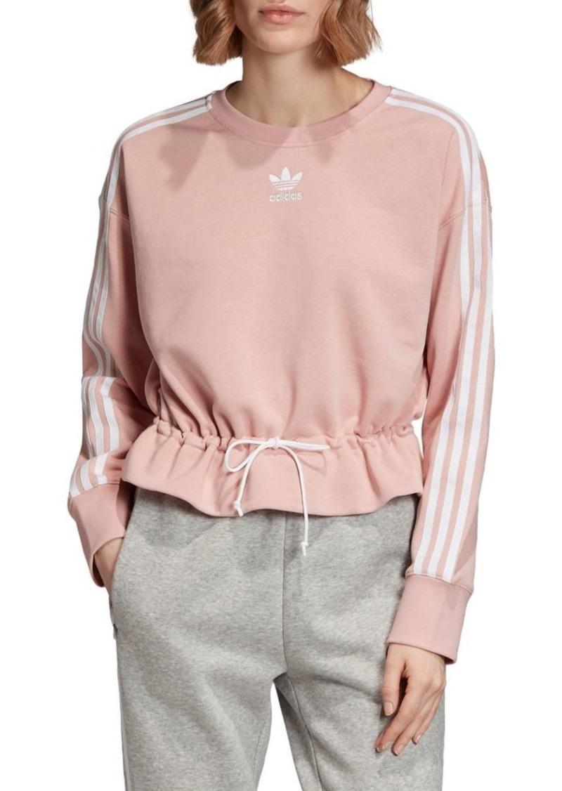 Adidas Tie-Waist Sweatshirt