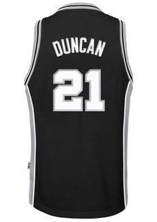 adidas Tim Duncan San Antonio Spurs Retired Player Swingman Jersey, Big Boys (8-20)