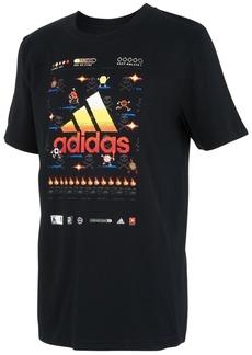 adidas Toddler Boys 8-Bit Sports Game Cotton T-Shirt