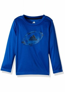 adidas Toddler Boys' Basic Long Sleeve Tee Shirt