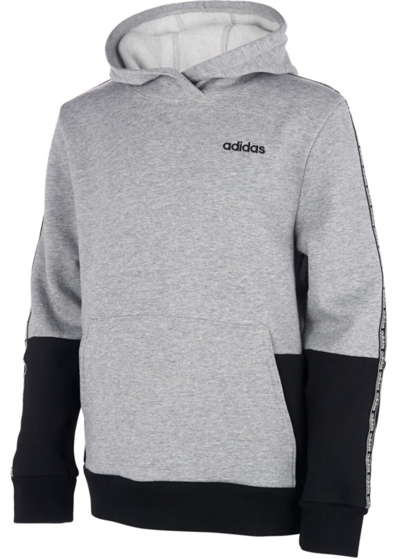 adidas Little Boys Core Tape Colorblocked Hoodie