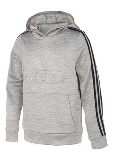 adidas Little Boys Embossed-Logo Hoodie
