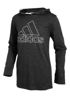 adidas Little Boys Logo-Print Hoodie