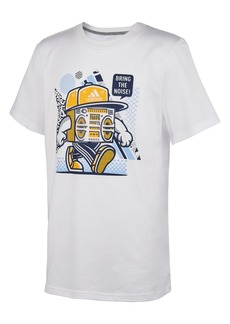 adidas Little Boys Noise-Print Cotton T-Shirt