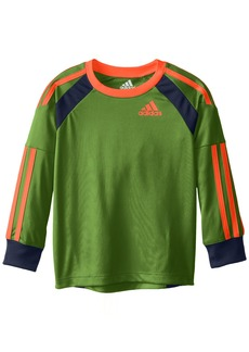 adidas Toddler Boys' Performance Logo Long Sleeve Tee Shirt