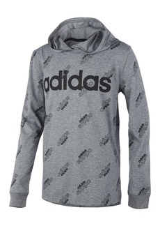 adidas Little Boys Printed Hooded T-Shirt