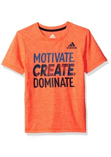 Adidas Boys' Toddler Short Sleeve Graphic Tee Shirts