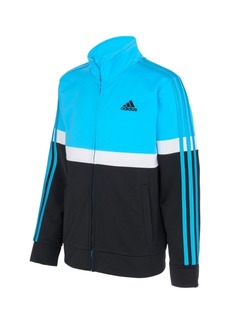 adidas Toddler Boys Zip Front Split Tricot Jacket