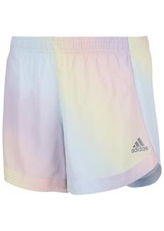 Adidas Little Girls Iridescent Woven Shorts