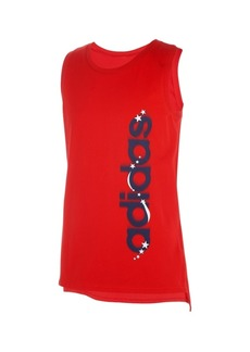 adidas Toddler Girls Sleeveless Muscle Tank Top