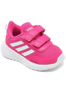 adidas Toddler Girls Tensor Stay-Put Closure Casual Athletic Sneakers from Finish Line