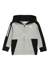adidas Transitional Full Zip Hoodie (Toddler Boys & Little Boys)