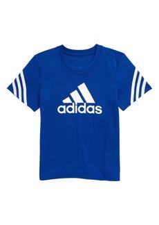 adidas Trefoil Aeroready T-Shirt (Toddler & Little Boy)