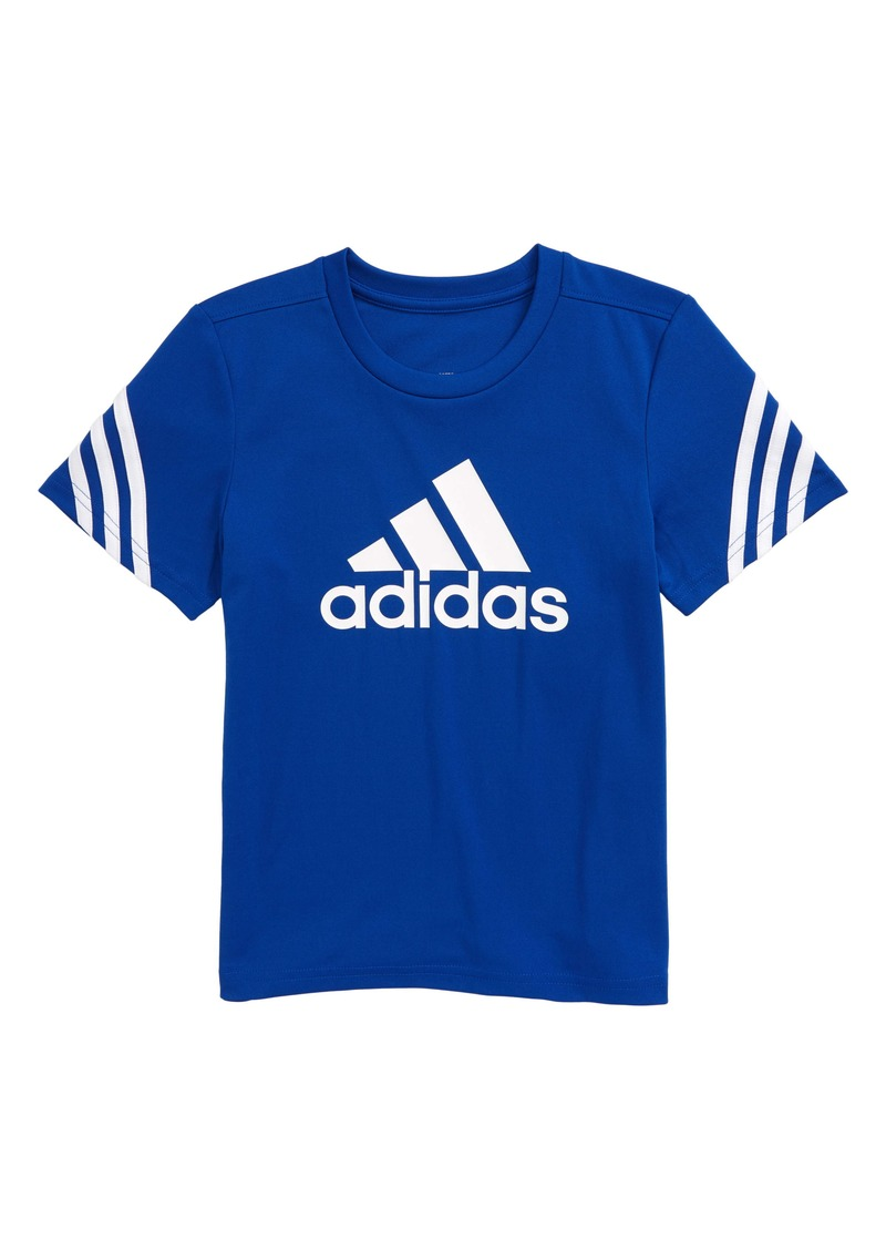 adidas Trefoil Aeroready T-Shirt (Toddler & Little Boy)