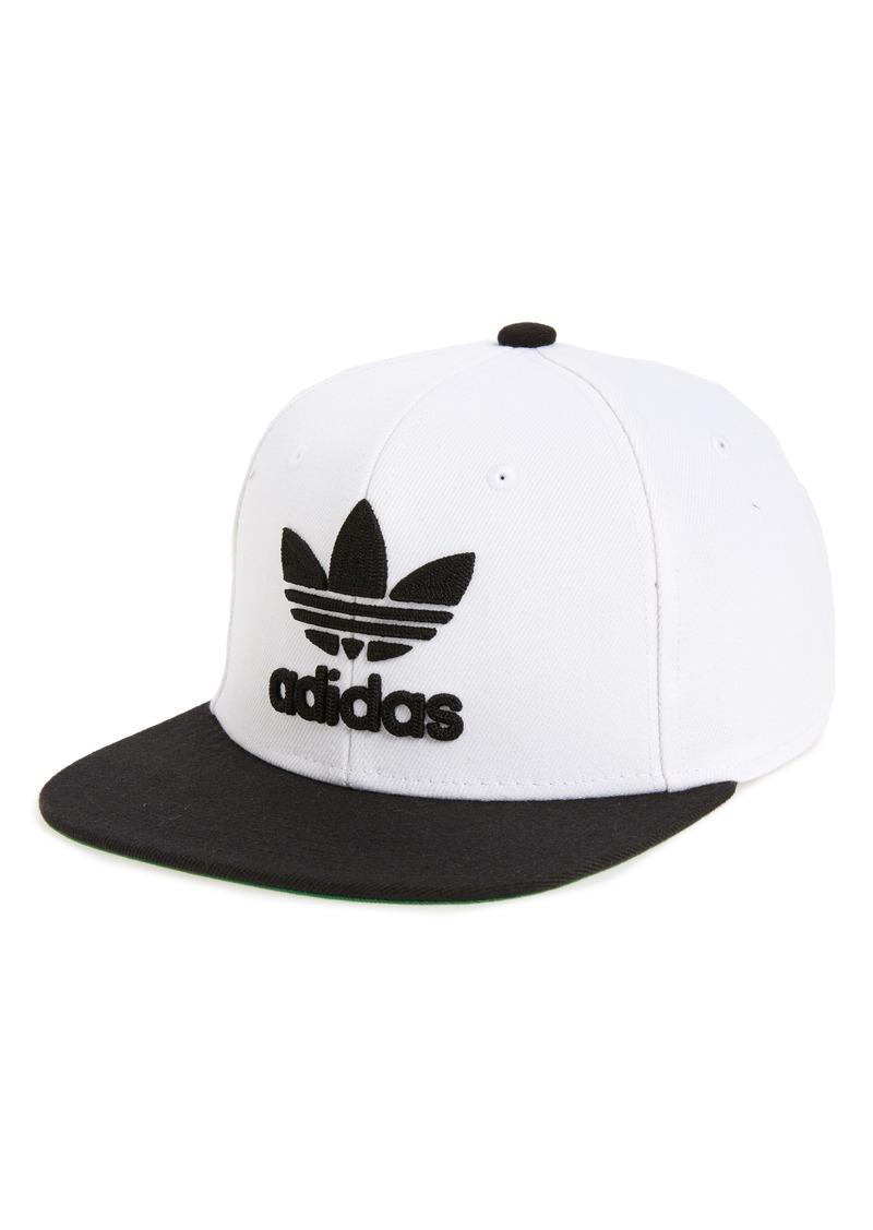4b9acabee1617 SALE! Adidas adidas Originals Trefoil Chain Snapback Baseball Cap