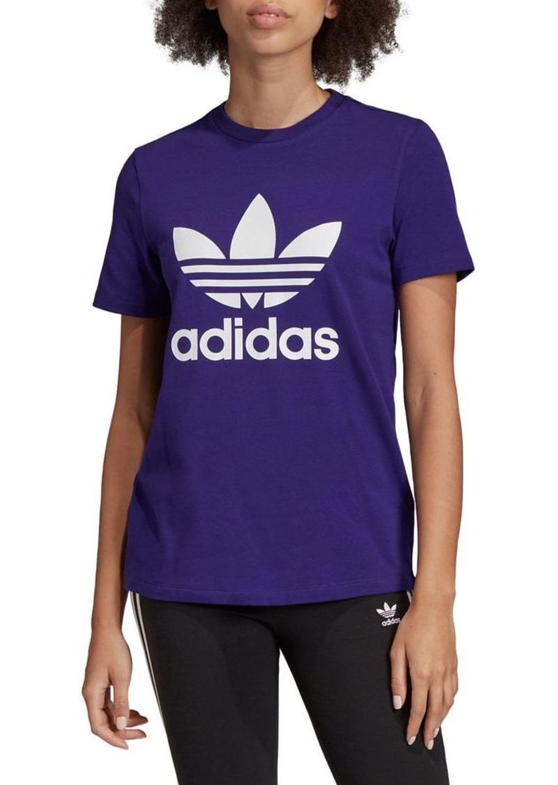 Adidas Trefoil Cotton Short-Sleeve Tee
