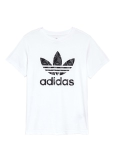 adidas Trefoil Graphic Tee (Big Boy)