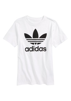adidas Trefoil Logo T-Shirt (Little Boys & Big Boys)